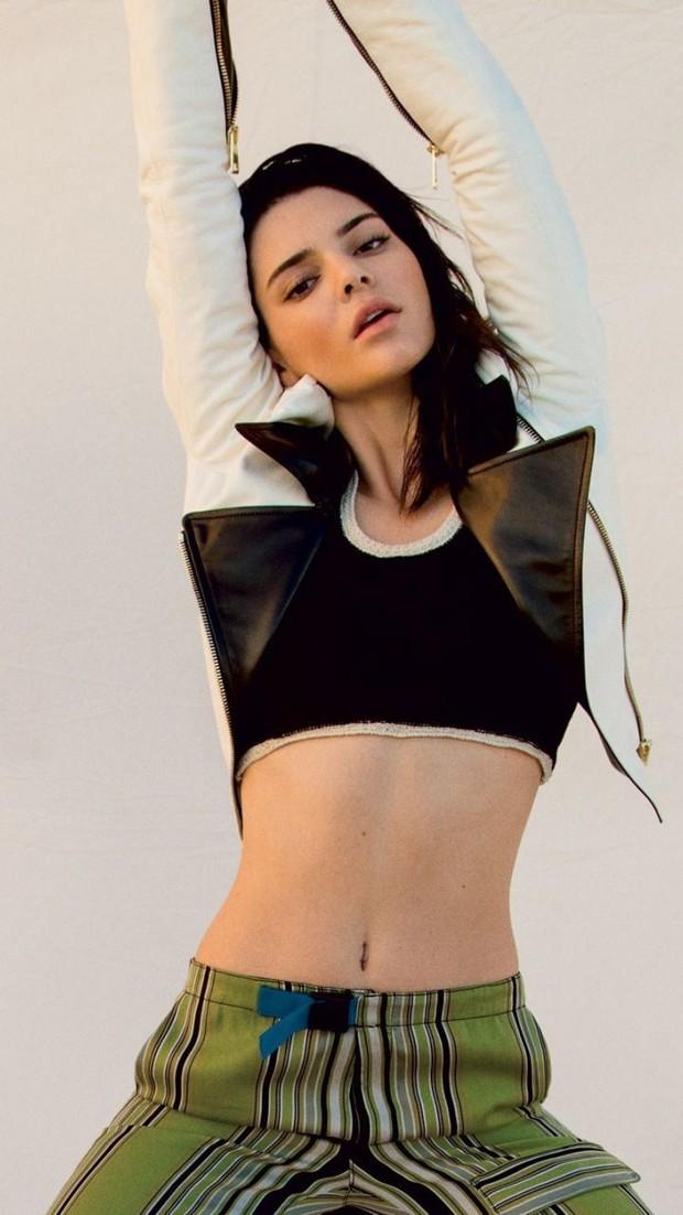 """Mỹ nhân đẹp mảnh mai phá vỡ tiêu chuẩn """"phồn thực"""" Kendall Jenner: Body như tạc, bảo sao hay nude 100% - Ảnh 8."""