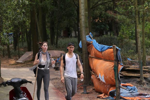 Cuộc đua kỳ thú tập 3: Hương Giang bất ngờ xuất hiện tái ngộ người cũ, đội Đỏ dừng chân - Ảnh 2.