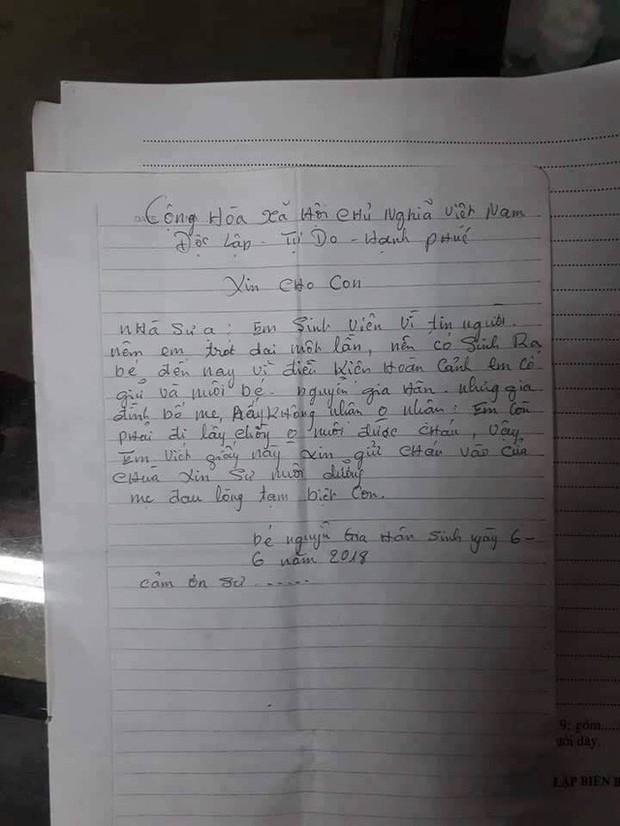 """Bé gái 2 tuổi bị bỏ rơi kèm lá thư """"gửi con để đi lấy chồng"""" có tên mới - Ảnh 2."""
