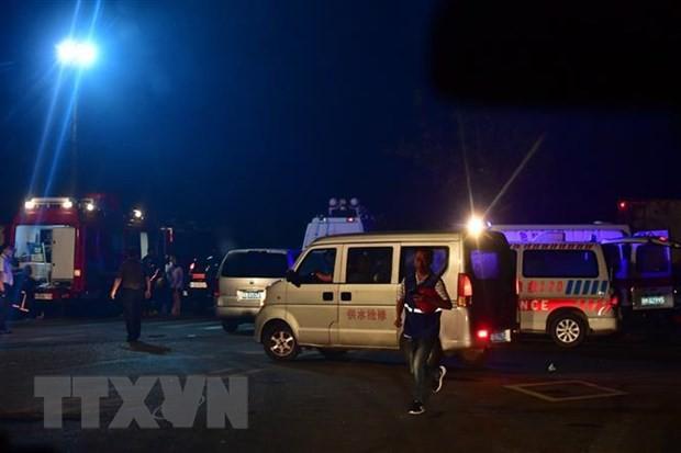 Nổ nhà máy khí đốt tại Trung Quốc: Con số thương vong tiếp tục tăng - Ảnh 1.