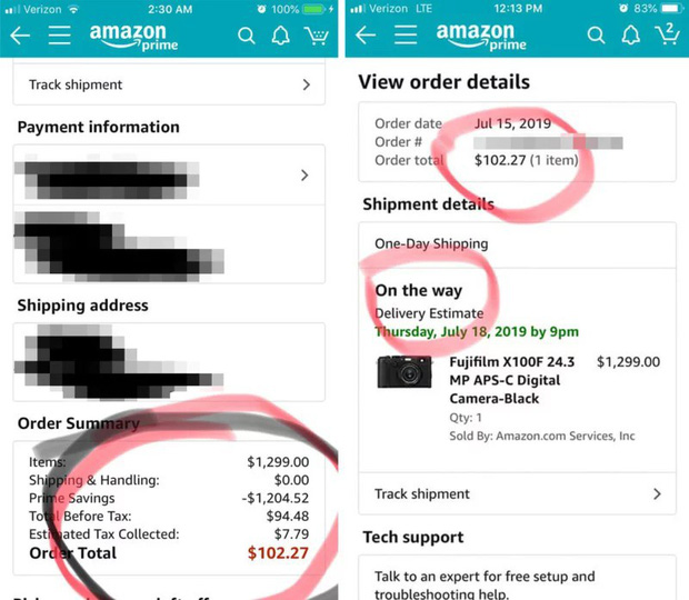 Amazon bán nhầm máy ảnh cao cấp giá chục nghìn đô với giá chỉ ... 100 USD - Ảnh 2.