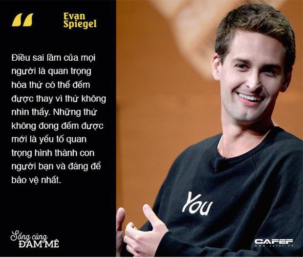 """Chuyện khởi nghiệp táo bạo của gã điên thiên tài Evan Spiegel: Thiếu gia """"vượt sướng"""" dựng cơ nghiệp tỷ đô, cạnh tranh với cả Facebook - Ảnh 8."""