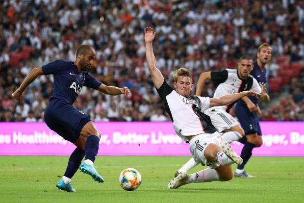 Ronaldo ghi bàn, nhưng siêu phẩm từ giữa sân của tiền đạo số 1 nước Anh giúp Tottenham ngược dòng ngoạn mục thắng Juventus 3-2 - Ảnh 7.