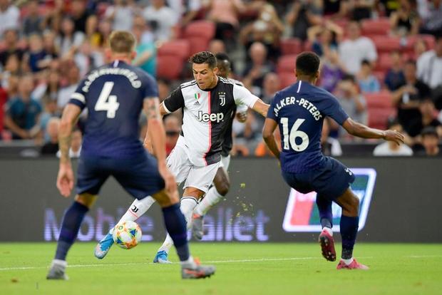 Ronaldo ghi bàn, nhưng siêu phẩm từ giữa sân của tiền đạo số 1 nước Anh giúp Tottenham ngược dòng ngoạn mục thắng Juventus 3-2 - Ảnh 5.