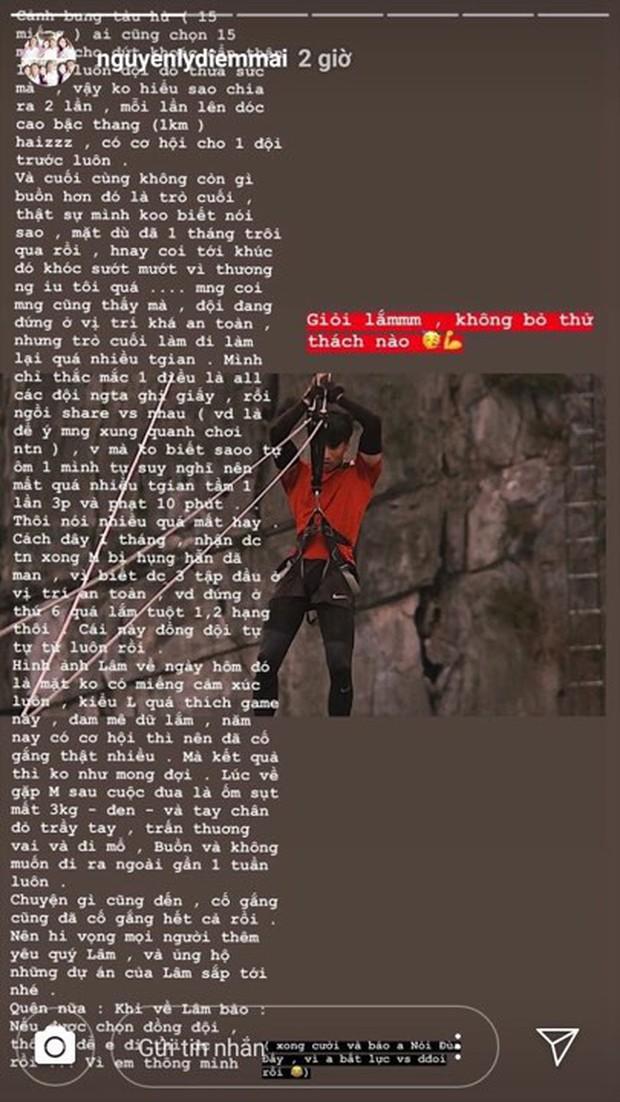 Tôn Kinh Lâm rời Cuộc đua kỳ thú, bạn gái chàng hot boy bị ném đá vì viết story ám chỉ người khác không thông minh nhưng lại sai chính tả be bét? - Ảnh 3.
