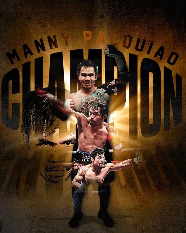 Huyền thoại Manny Pacquiao đánh như lên đồng ở tuổi 40, làm nhà vô địch bất bại người Mỹ phải câm lặng - Ảnh 12.