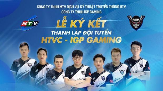 HTV công bố hợp tác cùng IGP Gaming, nhưng trang phục thi đấu mới là thứ khiến cả làng Esports thế giới dậy sóng! - Ảnh 1.
