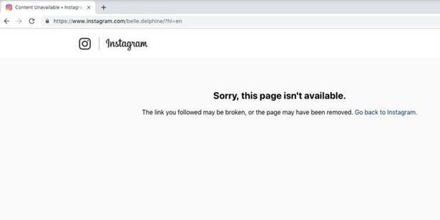 Ngôi sao Instagram bán nước tắm gây bão mạng đã bị khóa tài khoản - Ảnh 1.