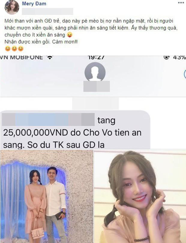 Cô gái gây xôn xao khi khoe tin nhắn bạn trai chuyển khoản hẳn 25 triệu chỉ để ăn sáng, nghe tâm sự đời thường còn choáng hơn - Ảnh 1.