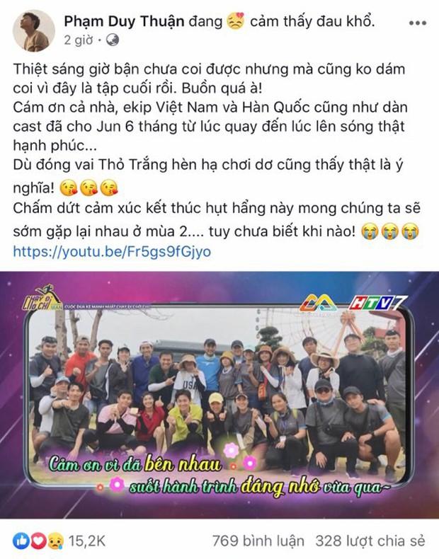 Khép lại mùa 1, fan đồng lòng mong Running Man Vietnam giữ lại các thành viên cũ cho mùa 2 - Ảnh 8.