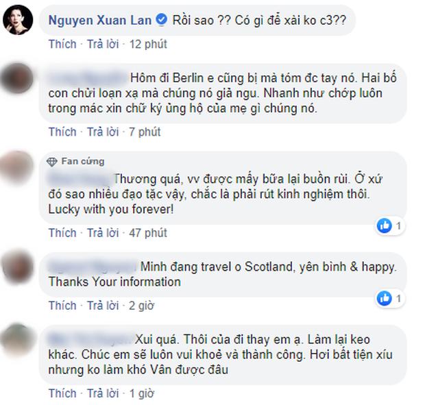 Ngô Thanh Vân bị móc túi mất toàn bộ tiền và điện thoại khi ở châu Âu - Ảnh 2.