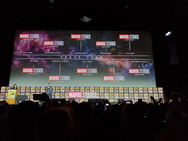 CỰC HOT: Marvel chính thức công bố 11 bom tấn giai đoạn 4, dội bom khán giả vô số bất ngờ - Ảnh 1.