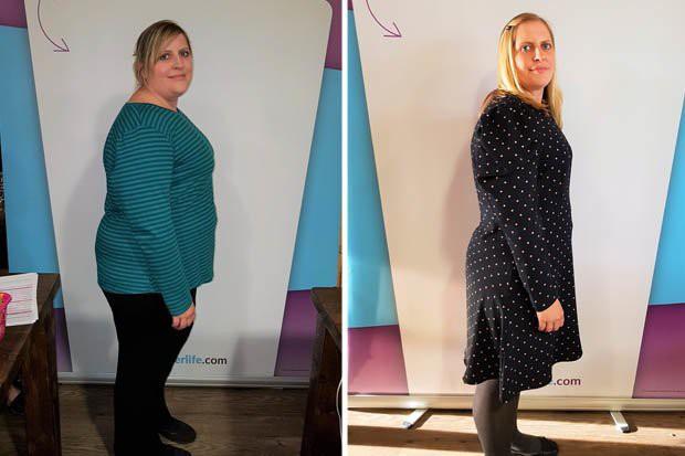 Cô gái người Anh cố tình mua váy cưới nhỏ hơn 3 size, hé lộ bí quyết giảm được 25kg trong 6 tháng - Ảnh 1.