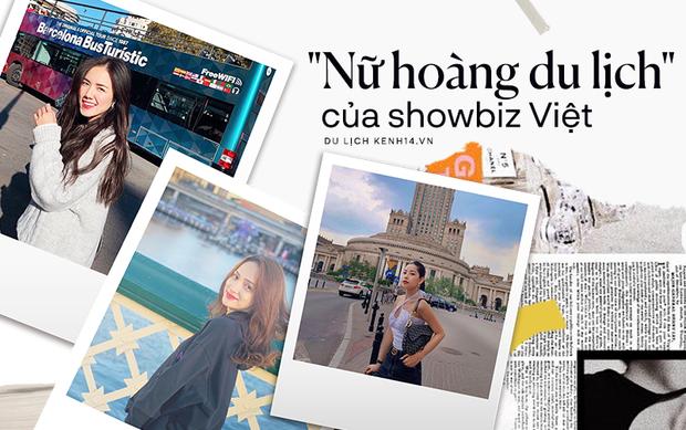"""Điểm danh 5 """"nữ thần du lịch"""" của showbiz Việt: Toàn nhan sắc cực phẩm, đi tới đâu là fan đổ ầm ầm tới đó! - Ảnh 1."""