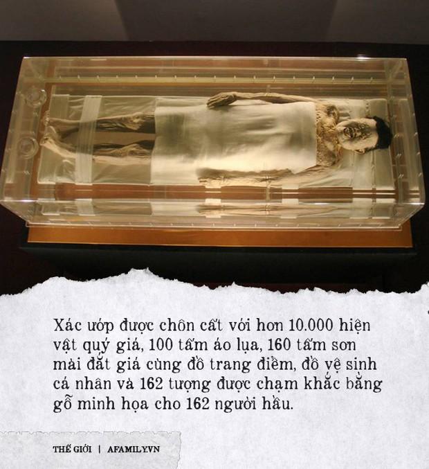 Câu chuyện bí ẩn về xác ướp vị phu nhân Trung Hoa kỳ lạ nhất thế giới: 2.000 năm tuổi da vẫn mềm, tóc vẫn xanh, có máu chảy trong tĩnh mạch - Ảnh 1.