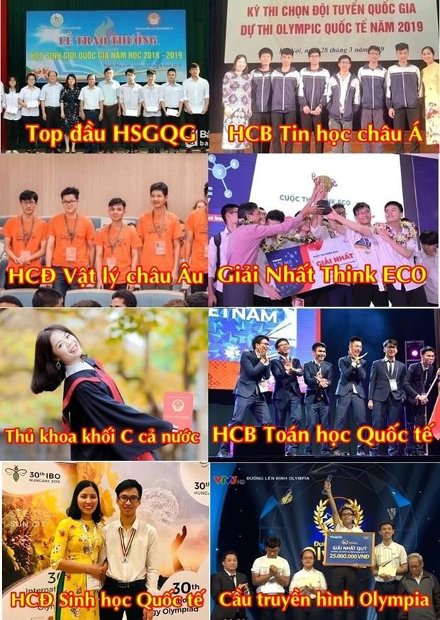 Ngôi trường cấp 3 giỏi hàng đầu Việt Nam: Có hàng chục huy chương quốc tế, thủ khoa khối C và cầu truyền hình Olympia chỉ trong một năm học - Ảnh 1.