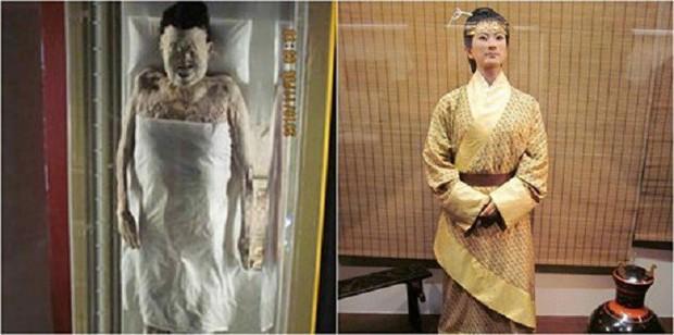Câu chuyện bí ẩn về xác ướp vị phu nhân Trung Hoa kỳ lạ nhất thế giới: 2.000 năm tuổi da vẫn mềm, tóc vẫn xanh, có máu chảy trong tĩnh mạch - Ảnh 4.