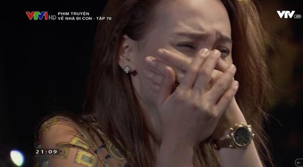 """Review tập 70: Cảnh bố Sơn sang nhà chồng Thư nghẹn ngào nói """"Về nhà đi con"""" lấy đi biết bao nước mắt khán giả - Ảnh 3."""