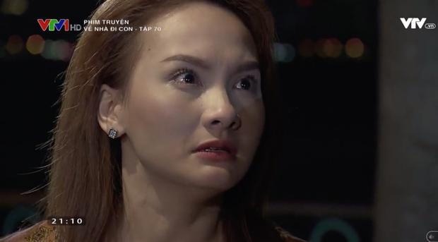 """Review tập 70: Cảnh bố Sơn sang nhà chồng Thư nghẹn ngào nói """"Về nhà đi con"""" lấy đi biết bao nước mắt khán giả - Ảnh 4."""