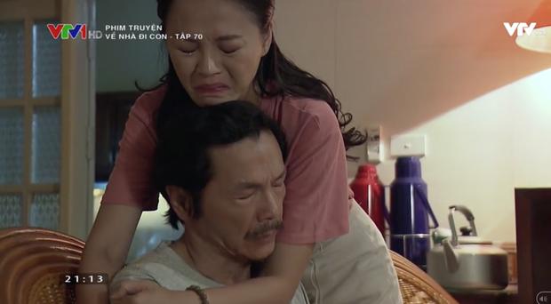 """Review tập 70: Cảnh bố Sơn sang nhà chồng Thư nghẹn ngào nói """"Về nhà đi con"""" lấy đi biết bao nước mắt khán giả - Ảnh 6."""