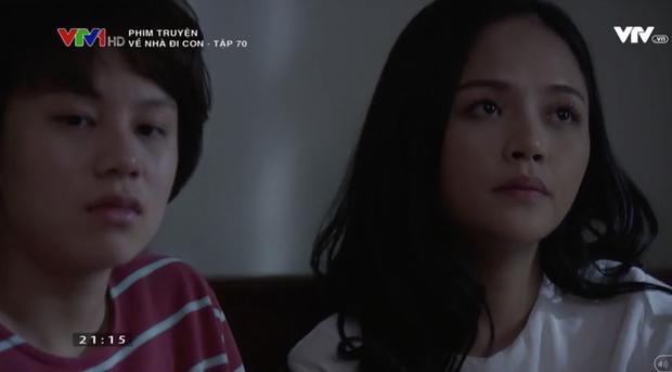 """Review tập 70: Cảnh bố Sơn sang nhà chồng Thư nghẹn ngào nói """"Về nhà đi con"""" lấy đi biết bao nước mắt khán giả - Ảnh 7."""