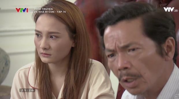 """Review tập 70: Cảnh bố Sơn sang nhà chồng Thư nghẹn ngào nói """"Về nhà đi con"""" lấy đi biết bao nước mắt khán giả - Ảnh 10."""