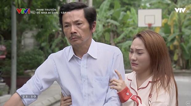"""Review tập 70: Cảnh bố Sơn sang nhà chồng Thư nghẹn ngào nói """"Về nhà đi con"""" lấy đi biết bao nước mắt khán giả - Ảnh 11."""