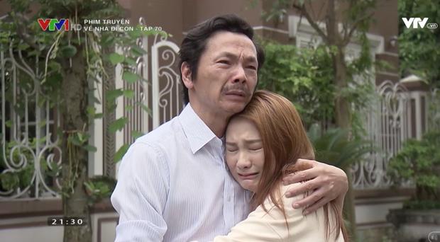 """Review tập 70: Cảnh bố Sơn sang nhà chồng Thư nghẹn ngào nói """"Về nhà đi con"""" lấy đi biết bao nước mắt khán giả - Ảnh 14."""