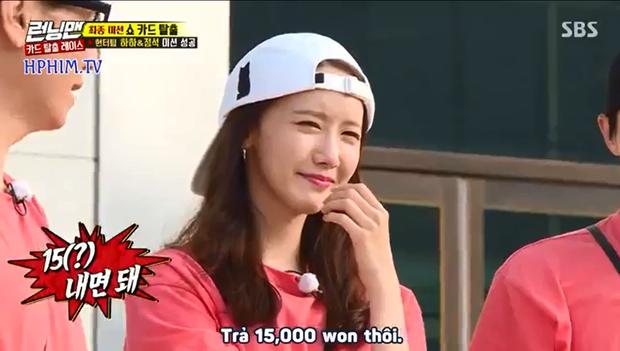 Khổ thân Yoona (SNSD), đi Running Man bị ướt tèm lem còn phải mất thêm tiền! - Ảnh 5.