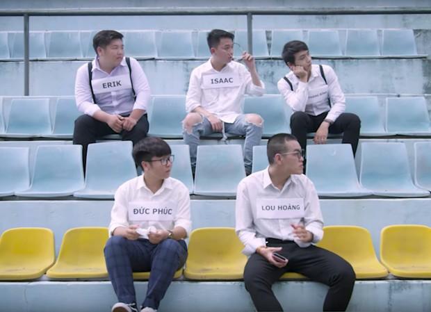 Isaac, Trịnh Thăng Bình, Erik, Đức Phúc, Lou Hoàng ngồi khóc theo cách thật đặc biệt trong MV mới của Suni Hạ Linh! - Ảnh 3.