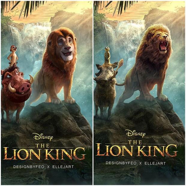 The Lion King bị chê tạo hình không giống bản gốc, người hâm mộ gửi ngay sáng kiến cực mặn - Ảnh 1.