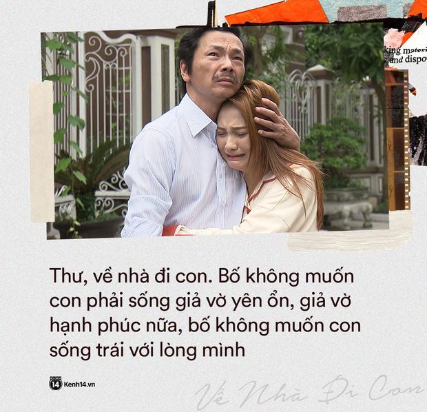 12 câu thoại ứa nước mắt của Về Nhà Đi Con tập 70: Bố chẳng có tài sản gì trừ tình yêu và căn nhà để các con có thể về - Ảnh 11.