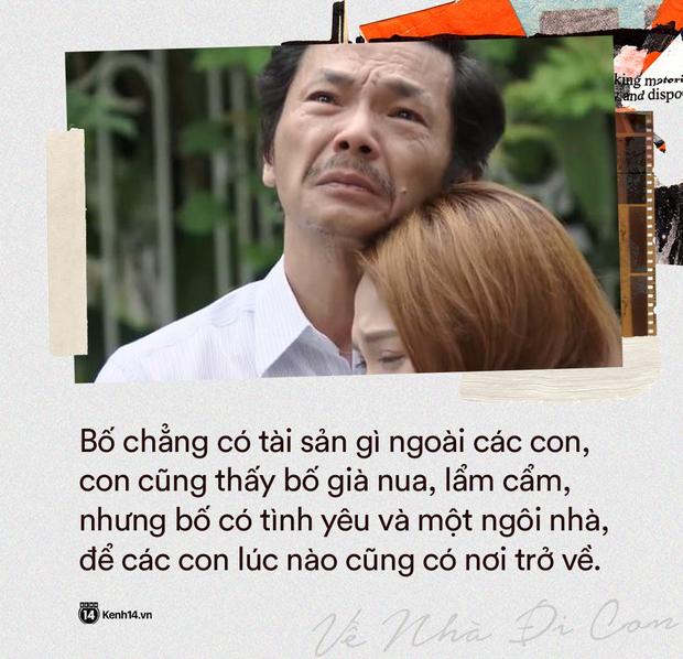 12 câu thoại ứa nước mắt của Về Nhà Đi Con tập 70: Bố chẳng có tài sản gì trừ tình yêu và căn nhà để các con có thể về - Ảnh 12.