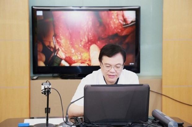 Lần đầu tiên một ca phẫu thuật chữa trị ung thư được điều khiển từ xa bằng mạng 5G tại Trung Quốc - Ảnh 2.
