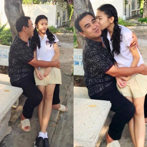Công chúa 14 tuổi nhà Quyền Linh thả dáng với bikini, ai cũng tấm tắc khen dáng vóc như Hoa hậu tương lai - Ảnh 6.