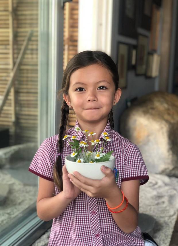 Điểm mặt hội ái nữ nhà sao Việt: Còn nhỏ đã có năng khiếu nghệ thuật, xinh đẹp chuẩn mỹ nhân tương lai - Ảnh 7.