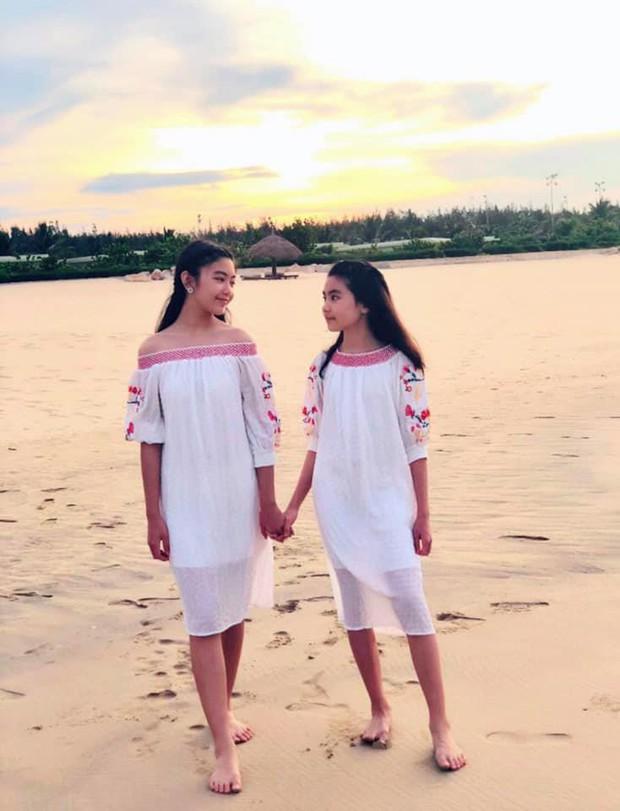 Công chúa 14 tuổi nhà Quyền Linh thả dáng với bikini, ai cũng tấm tắc khen dáng vóc như Hoa hậu tương lai - Ảnh 3.