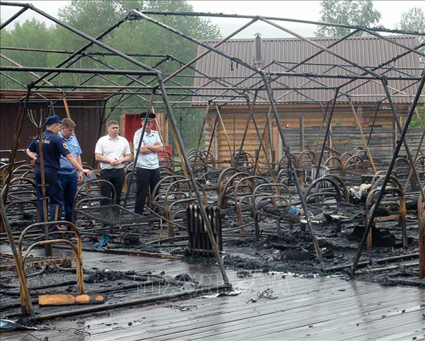 Hỏa hoạn tại trại hè ở Nga, ít nhất 4 trẻ em thiệt mạng - Ảnh 1.