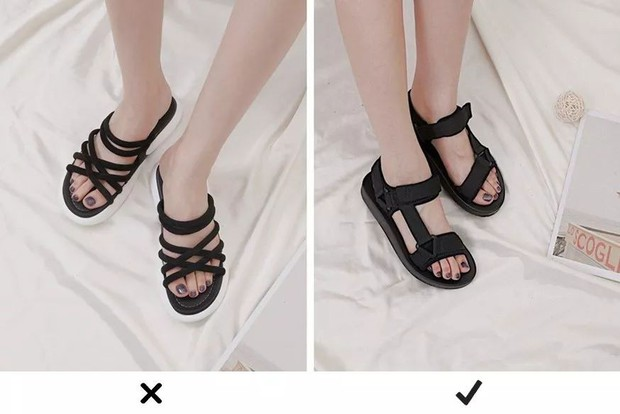 Thay mặt hội chị em có bàn chân to, cô nàng này đã thử nghiệm và tìm ra những loại giày dép tôn chân nịnh dáng nhất - Ảnh 7.
