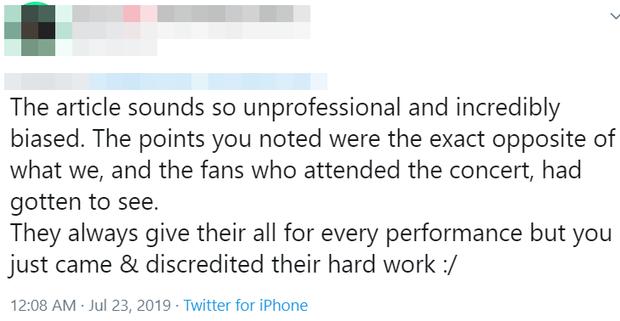 """Fan phẫn nộ khi concert của TWICE bị báo Mỹ """"ném đá"""" thậm tệ: Nhóm bị chê """"flop"""", mang tiếng kém tài - Ảnh 6."""