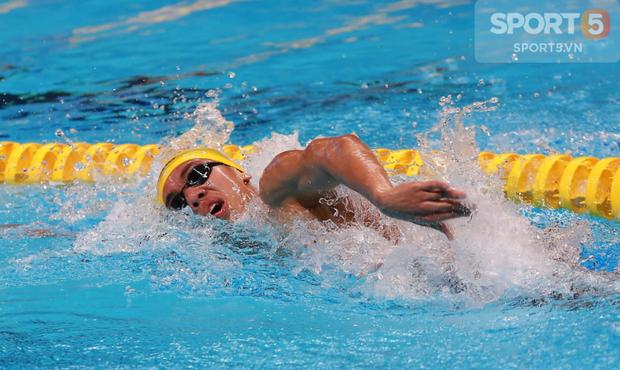 Hot boy bơi lội Huy Hoàng giành tấm vé dự Olympic 2020 đầu tiên của Việt Nam - Ảnh 2.