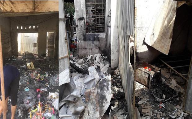 Vụ chủ cửa hàng quần áo bị kẻ bịt mặt ném bom xăng: Họ xông vào đánh tôi và dọa đốt 2 lần rồi - Ảnh 1.