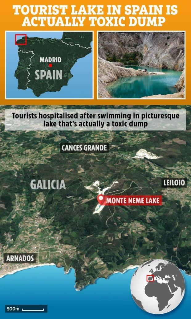 Sốc: Nhập viện hàng loạt sau khi bơi, hồ nước xanh lam nổi tiếng Tây Ban Nha này chính là hiểm họa với du khách - Ảnh 13.