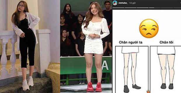 Bị dân mạng body shaming, Nhật Lê - bạn gái Quang Hải cũng thở than về đôi chân ngắn của mình - Ảnh 1.