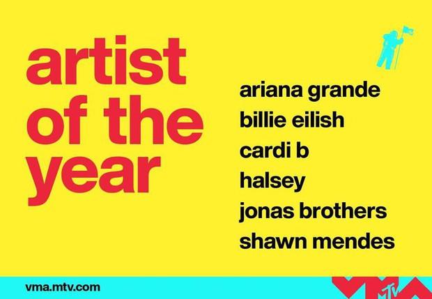 Chính thức công bố đề cử MTV VMAs 2019: Taylor Swift và Ariana Grande dẫn đầu đề cử, BTS và BLACKPINK lần đầu xuất hiện! - Ảnh 6.