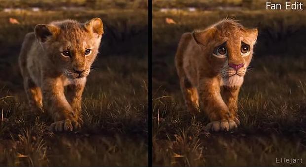 The Lion King bị chê tạo hình không giống bản gốc, người hâm mộ gửi ngay sáng kiến cực mặn - Ảnh 2.