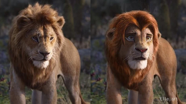 The Lion King bị chê tạo hình không giống bản gốc, người hâm mộ gửi ngay sáng kiến cực mặn - Ảnh 3.