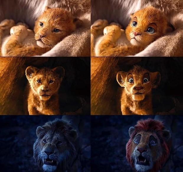 The Lion King bị chê tạo hình không giống bản gốc, người hâm mộ gửi ngay sáng kiến cực mặn - Ảnh 7.