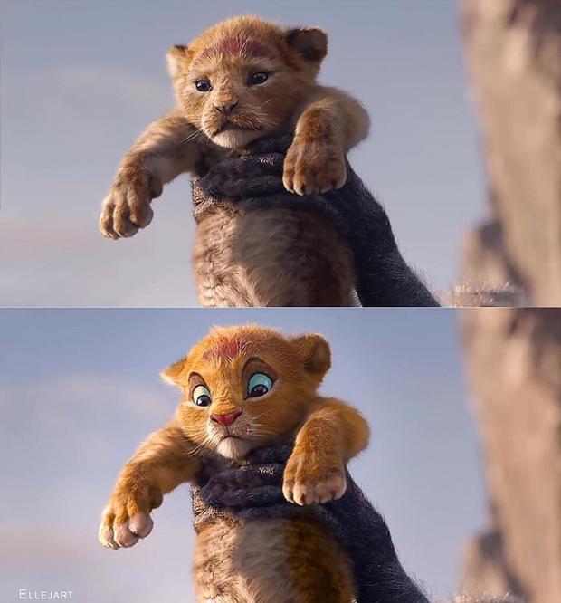 The Lion King bị chê tạo hình không giống bản gốc, người hâm mộ gửi ngay sáng kiến cực mặn - Ảnh 5.