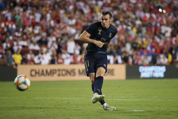 Gareth Bale giúp Real Madrid đánh bại Arsenal trong trận đấu giao hữu có 2 thẻ đỏ - Ảnh 2.